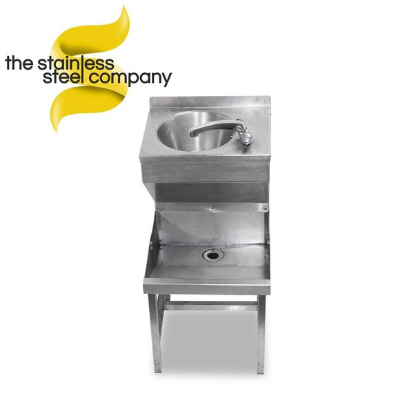 Stainless Steel Janitors Sink