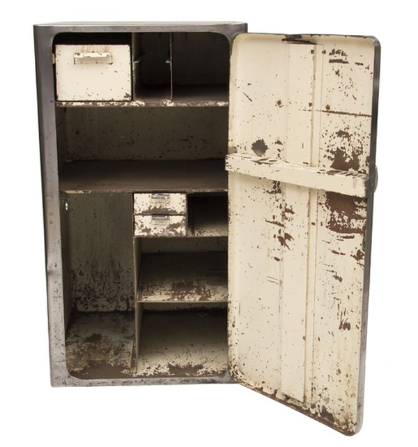 1950's Steel Engineers Tool Makers Cabinet by Edgwick