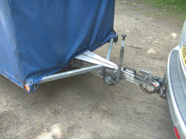 Aluminium covered trailer