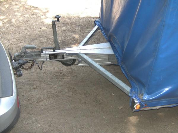 Aluminium tow hitch