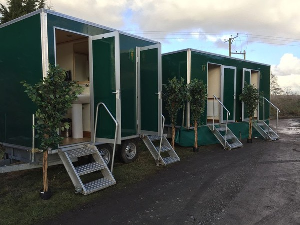 Event toilet trailer UK for sale