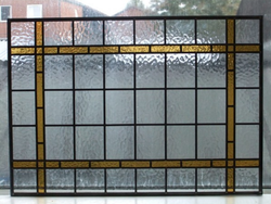 Hand made stained glass