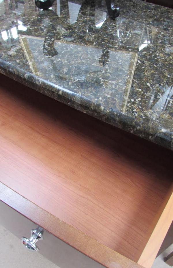 Granite wood drawer