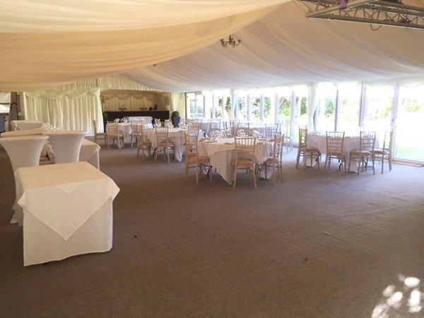 22.5 metre marquee