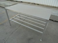 Used Stainless Steel Table  (5768)