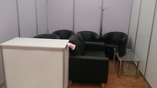 Used Exhibition counter for sale