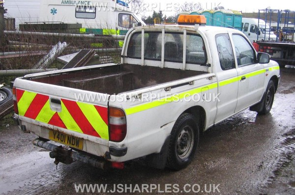 Supercab pick up truck