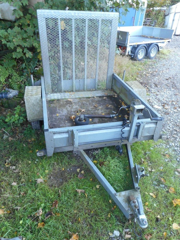 5FT X 4FT General Purpose Trailer with Winch and Ramp C2111
