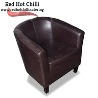 Brown tub chairs for sale