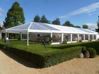 Used bellend roof marquee for sale