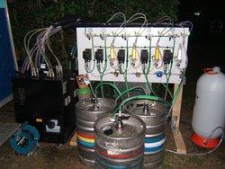 4 Way Line Beer Dispenser