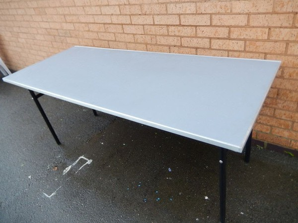 Used catering trestle tables