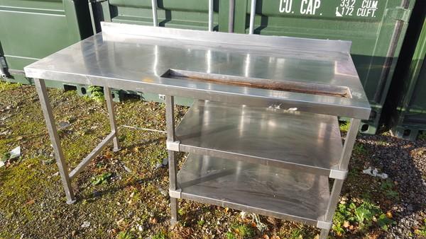Coffee machine table