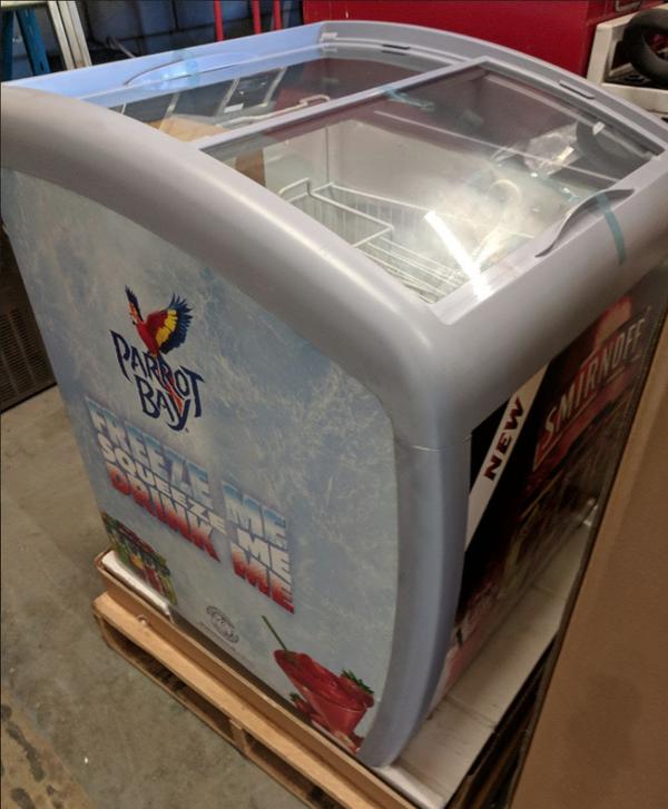 Display chest impulse freezer