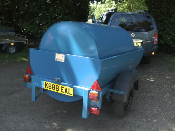 Bunded Fuel / Waste Oil Bowser Tanker Trailer