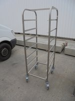 used stainless steel rack
