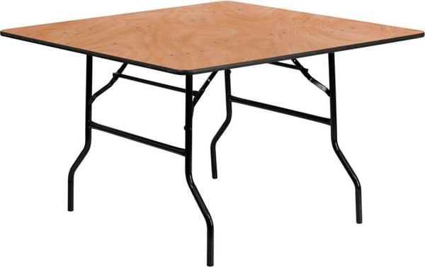 Plywood banqueting tables