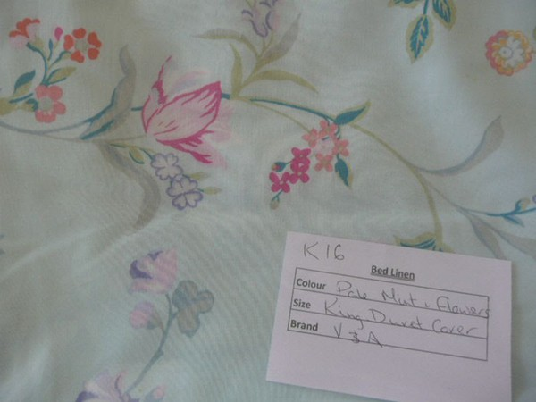 Used bed linen
