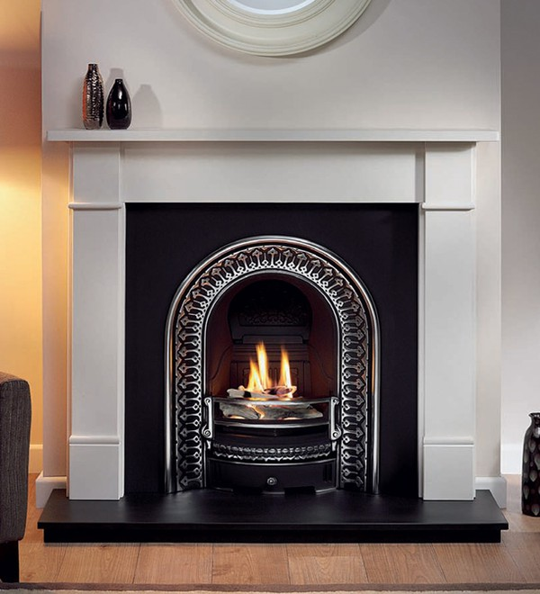 Regal cast iron fireplace