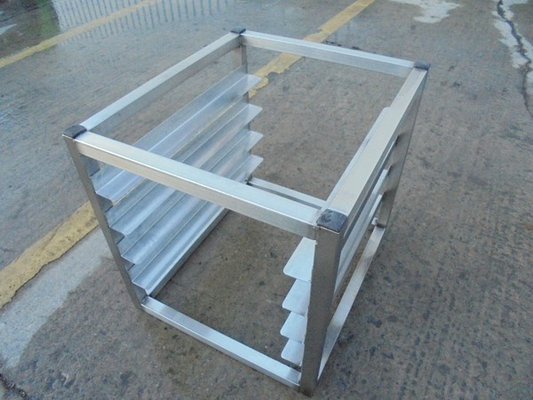 Steel rack stand