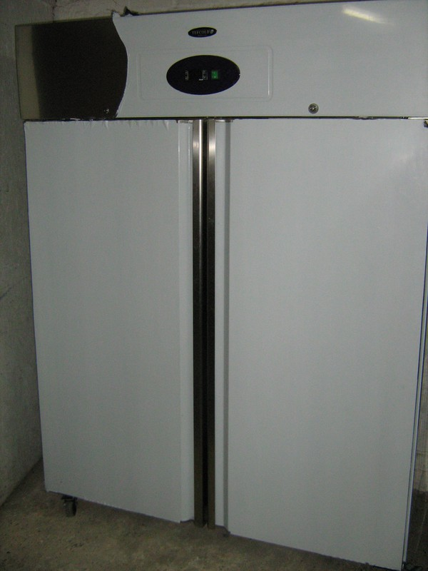 Tefcold Rk1420 2 Door Upright Fridge