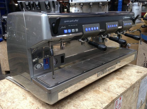 Used 3 group coffee machine for sale