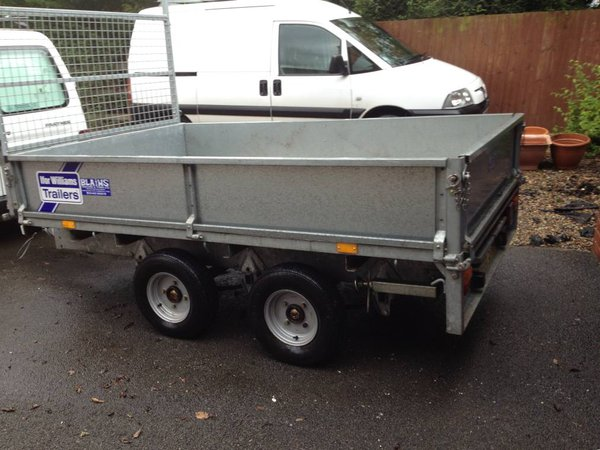 Second Hand Ifor Williams LT85 2 tonne GWT