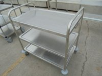 Stainless Steel 3 Tier Trolley (5849)