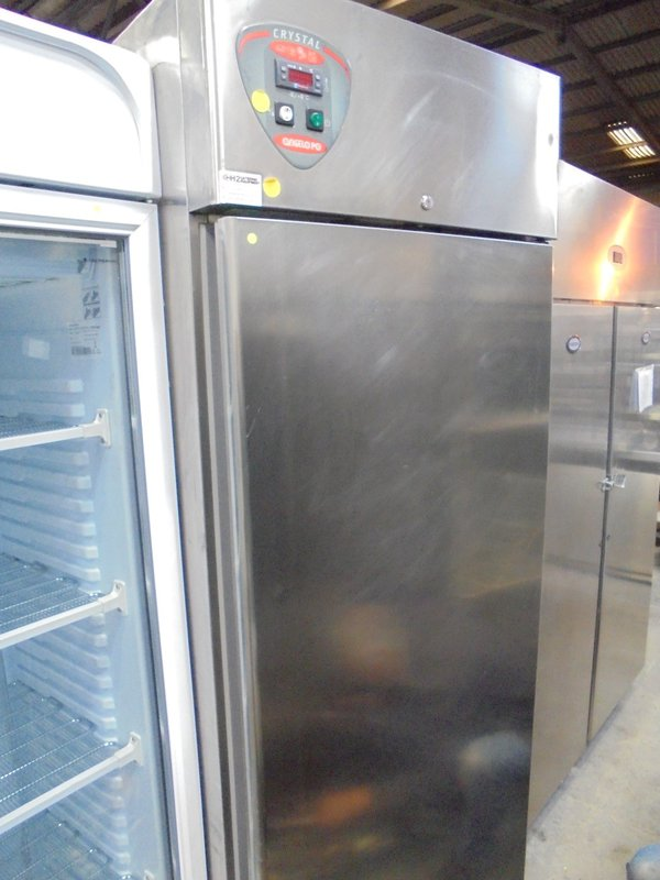 Used Angelo Po CX70 Stainless Steel Upright Fridge (5870)