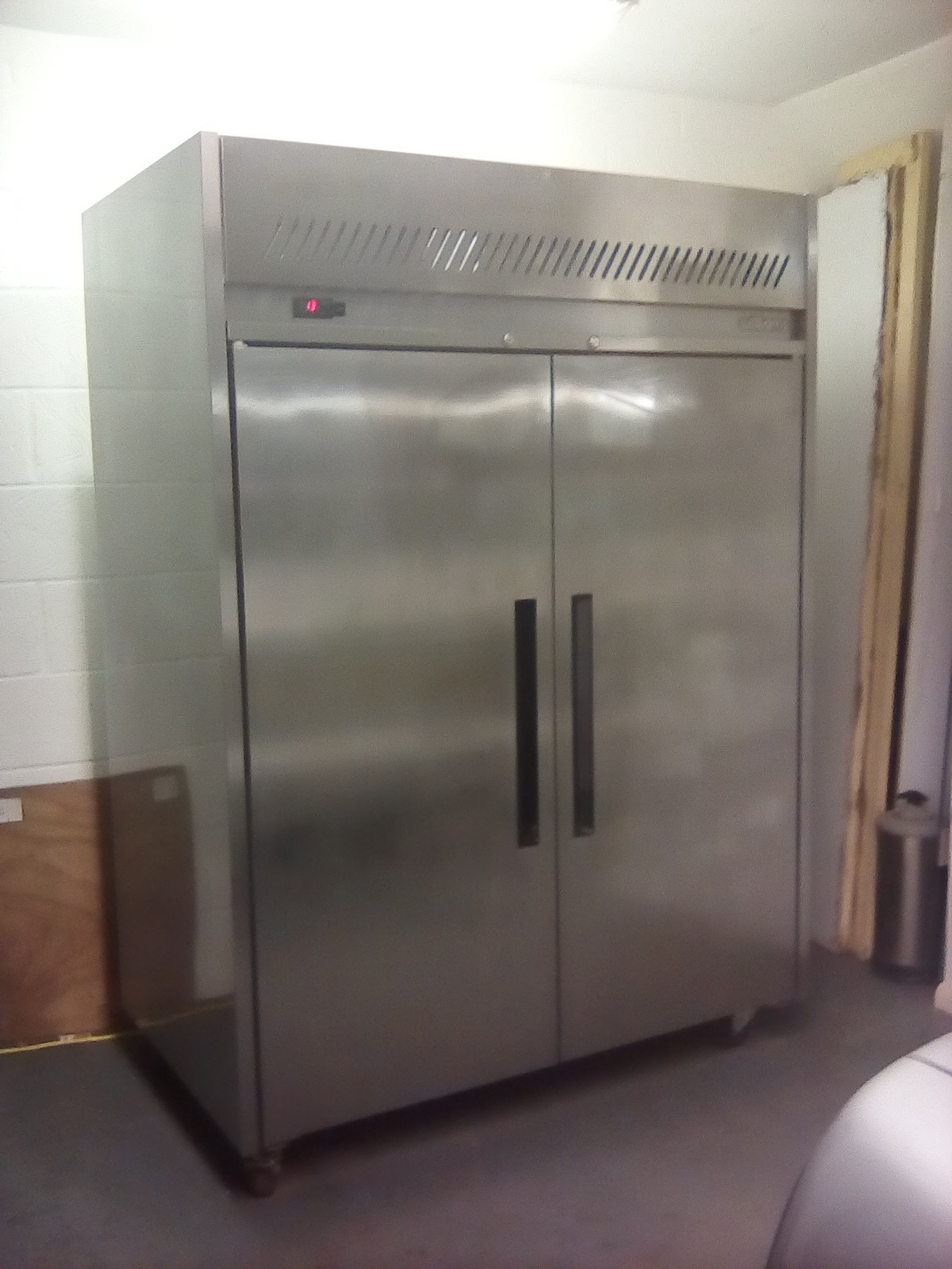 Secondhand Catering Equipment Upright Fridges Williams Double