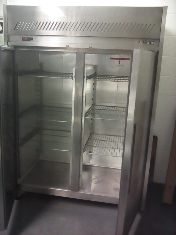 Used Williams double door fridge for sale