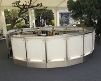 Sectional Round Illuminated Bar