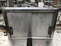 Stainless steel wall cupboard