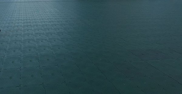 Green Ultra Deck Event Flooring