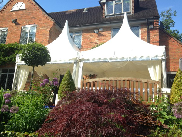 3m x 3m pagoda marquees