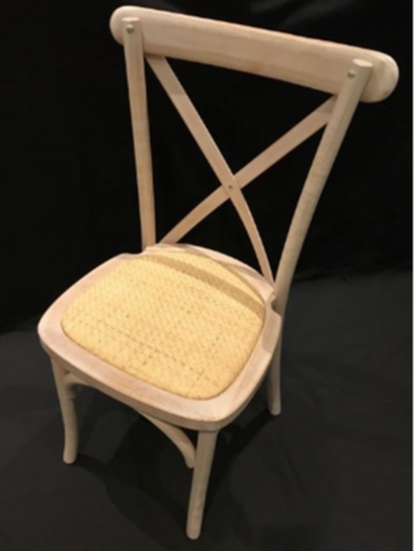 Hampton-Style Cross-back Chairs