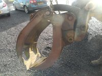 Excavator scrap grab for sale