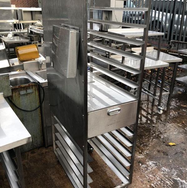 Steel bakery rack for sale