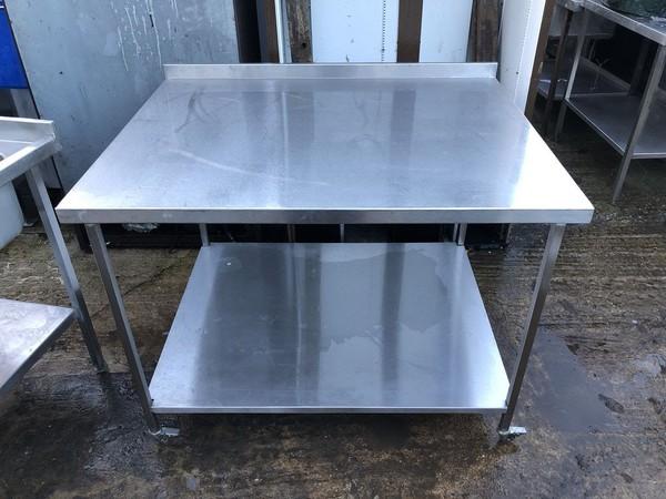 Large steel table