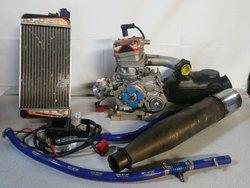 Iame X3O R Series complete Engine Setup  Ex BMR Team engine
