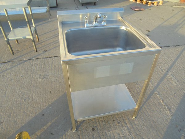 Used Stainless Single Bowl Sink (5974)