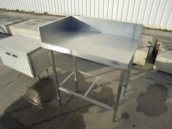 stainless steel table