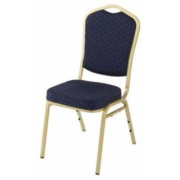 Steel framed banqueting chairs