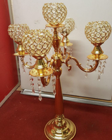 Gold candelabras for sale