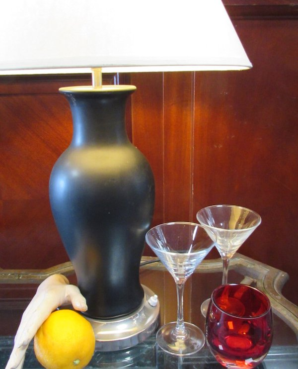 Ceramic lamp bases