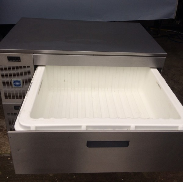 Adande VCS2 Fridge or Freezer Double Drawer Storage Unit