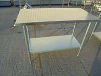 Used Stainless Steel Table (5983)