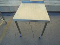 Used Stainless Steel Table / Stand (5987)