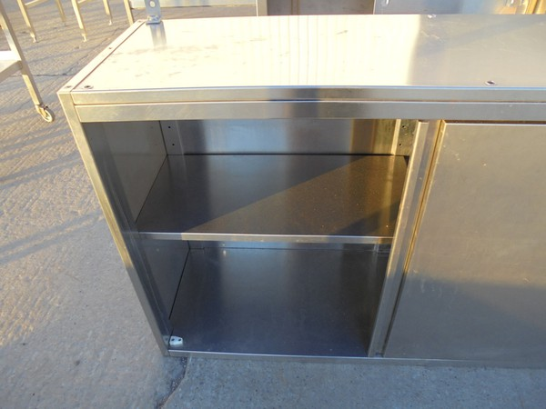 Used Stainless Steel Kitchen Wall Cabinet