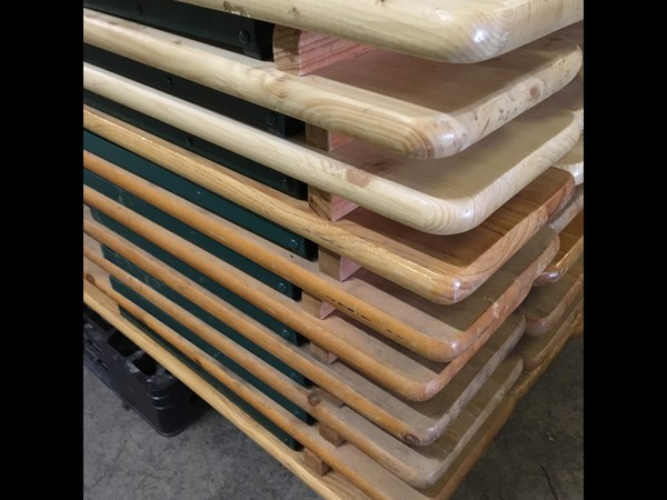 6ft Stacking Benches